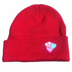 Jeffree Star cosmetics valentines heart candy hat